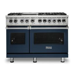 Brand: Viking, Model: VDR5486GDG, Color: Slate Blue, Natural Gas