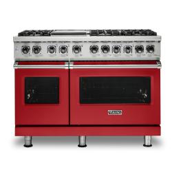 Brand: Viking, Model: VDR5486GDG, Color: San Marzano Red, Liquid Propane