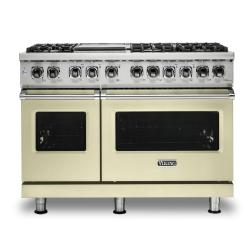 Brand: Viking, Model: VDR5486GDG, Color: Vanilla Cream, Liquid Propane