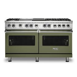Brand: Viking, Model: VDR5606GQSBLP, Color: Cypress Green, Liquid Propane