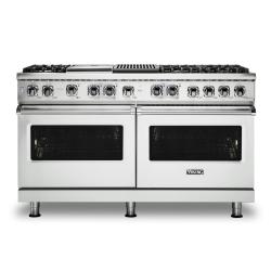 Brand: Viking, Model: VDR5606GQSBLP, Color: Frost White, Natural Gas