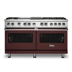 Brand: Viking, Model: VDR5606GQSBLP, Color: Kalamata Red, Liquid Propane