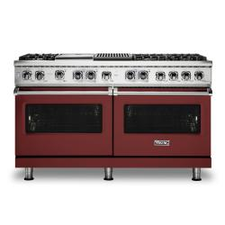 Brand: Viking, Model: VDR5606GQSBLP, Color: Reduction Red, Natural Gas