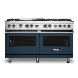 Brand: Viking, Model: VDR5606GQSBLP, Color: Slate Blue, Liquid Propane