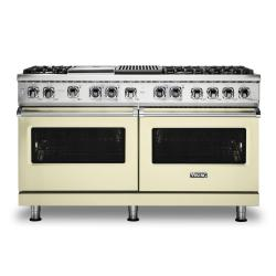 Brand: Viking, Model: VDR5606GQSBLP, Color: Vanilla Cream, Natural Gas