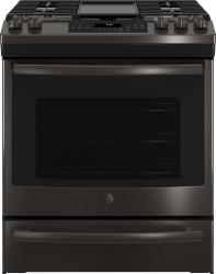 Brand: General Electric, Model: JGS760SELSS, Color: Black Stainless