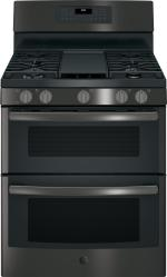 Brand: General Electric, Model: JGB860BEJTS, Style: Black Stainless