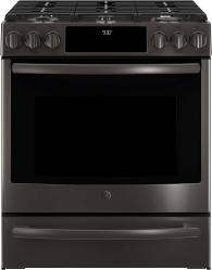Brand: General Electric, Model: PGS930SELSS, Color: Black Stainless Steel