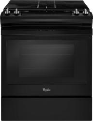 Brand: Whirlpool, Model: WEG515S0FS, Color: Black