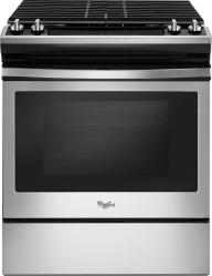 Brand: Whirlpool, Model: WEG515S0FS, Color: Black on Stainless Steel