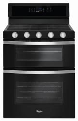 Brand: Whirlpool, Model: WGG745S0FE, Color: Black Ice