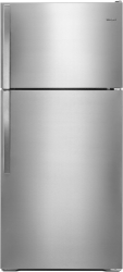 Brand: Whirlpool, Model: WRT134TFDB, Color: Monochromatic Stainless Steel