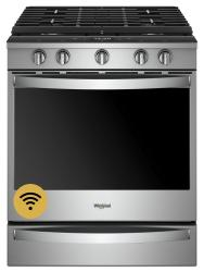 Brand: Whirlpool, Model: WEG750H0HV, Color: Fingerprint Resistant Stainless Steel