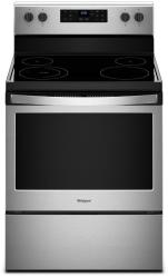 Brand: Whirlpool, Model: WFE505W0HW, Color: Black on stainless Steel