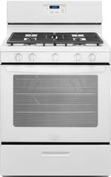 Brand: Whirlpool, Model: WFG505M0BW, Color: White