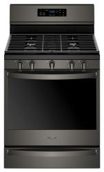 Brand: Whirlpool, Model: WFG775H0HZ, Color: Black Stainless Steel