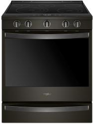 Brand: Whirlpool, Model: WEE750H0HW, Color: Black Stainless Steel