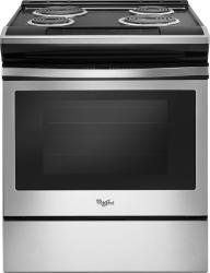 Brand: Whirlpool, Model: WEC310S0FB, Color: Black on Stainless Steel