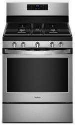 Brand: Whirlpool, Model: WFG525S0HS, Color: Black on Stainless Steel