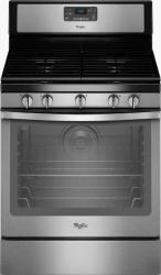 Brand: Whirlpool, Model: WFG540H0EH, Color: Black on Stainless Steel