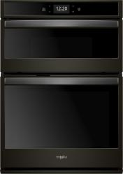 Brand: Whirlpool, Model: WOC75EC0HW, Color: Black Stainless Steel