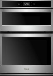 Brand: Whirlpool, Model: WOC75EC0HW, Color: Stainless Steel
