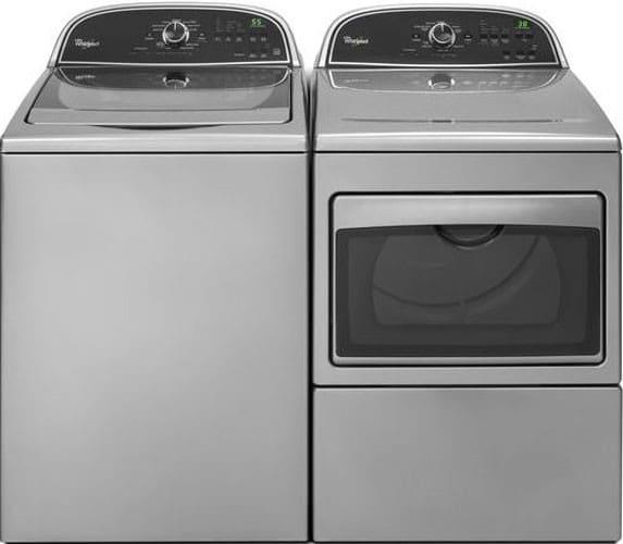 Whirlpool WTW5800BW 27 Inch Top Load Washer With Ecoboost
