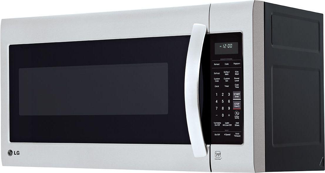 Lg Lmv2031ss 2 0 Cu Ft Over The Range Microwave Oven