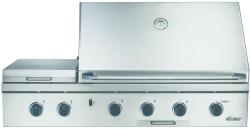 Brand: Dacor, Model: OB52NG, Fuel Type: Stainless Steel with Natural Gas