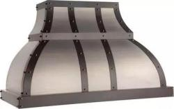 Brand: Vent-A-Hood, Model: JCH242B1SSAS, Style: Stainless Steel with 48 Inch and 600 CFM