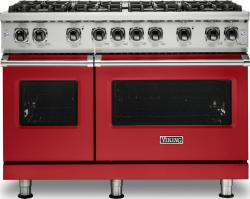 Brand: Viking, Model: VGR5488BGGLP, Color: San Marzano Red, Liquid Propane