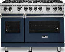 Brand: Viking, Model: VGR5488BGGLP, Color: Slate Blue, Liquid Propane