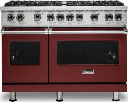 Brand: Viking, Model: VGR5488BGGLP, Color: Reduction Red, Liquid Propane