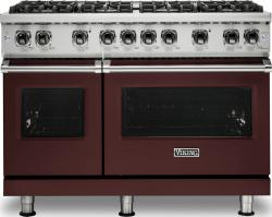Brand: Viking, Model: VGR5488BGGLP, Color: Kalamata Red, Liquid Propane