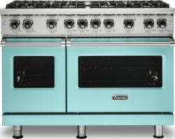 Brand: Viking, Model: VGR5488BGGLP, Color: Bywater Blue, Liquid Propane