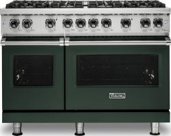 Brand: Viking, Model: VGR5488BGGLP, Color: Blackforest Green, Liquid Propane