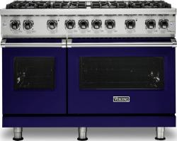 Brand: Viking, Model: VGR5488BGGLP, Fuel Type: Cobalt Blue, Liquid Propane