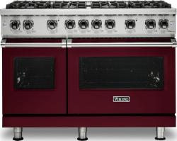 Brand: Viking, Model: VGR5488BGGLP, Fuel Type: Burgundy, Liquid Propane