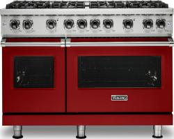 Brand: Viking, Model: VGR5488BGGLP, Fuel Type: Apple Red, Liquid Propane