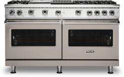 Brand: Viking, Model: VGR5606GQSSLP, Color: Pacific Grey with Liquid Propane