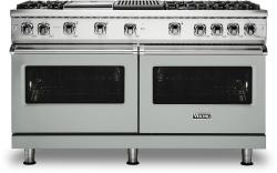 Brand: Viking, Model: VGR5606GQBULP, Color: Arctic Grey with Liquid Propane