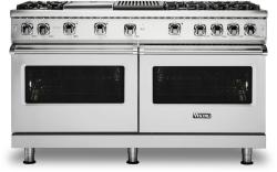 Brand: Viking, Model: VGR5606GQSSLP, Fuel Type: Stainless Steel with Liquid Propane