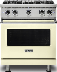 Brand: Viking, Model: VGR5304BCBLP, Color: Vanilla Cream with Liquid Propane