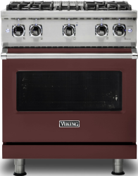 Brand: Viking, Model: VGR5304BCBLP, Color: Kalamata Red with Liquid Propane