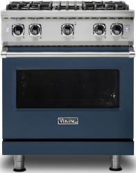 Brand: Viking, Model: VGR5304BCBLP, Color: Slate Blue with Liquid Propane