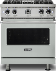 Brand: Viking, Model: VGR5304BCBLP, Color: Arctic Grey with Liquid Propane