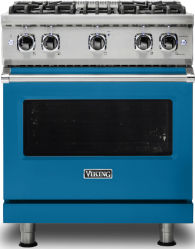Brand: Viking, Model: VGR5304BCBLP, Color: Alluvial Blue with Liquid Propane