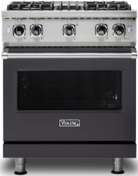 Brand: Viking, Model: VGR5304BGGLP, Fuel Type: Graphite Gray with Natural Gas