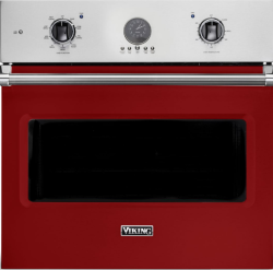 Brand: Viking, Model: VSOE530VC, Color: Apple Red
