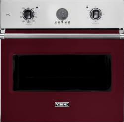 Brand: Viking, Model: VSOE530VC, Color: Burgundy